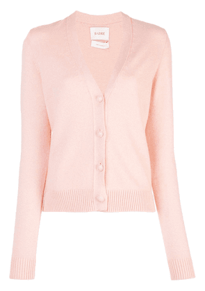 Barrie button up cardigan - PINK