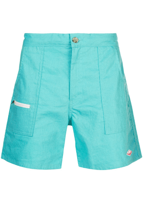Battenwear Belted Local Shorts - Blue