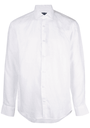 Frescobol Carioca long-sleeve fitted shirt - White