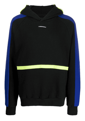 D.Gnak color-block hoodie - Black