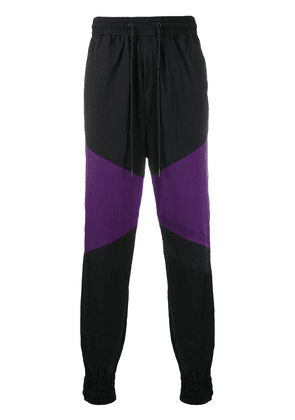 D.Gnak colour-block track pants - Black