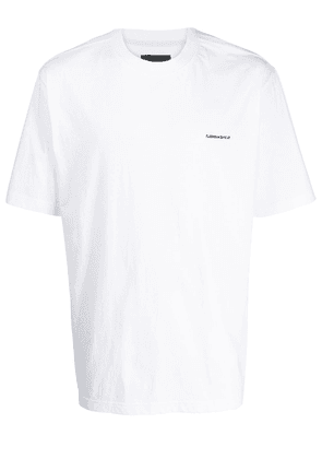 D.Gnak embroidered logo T-shirt - White