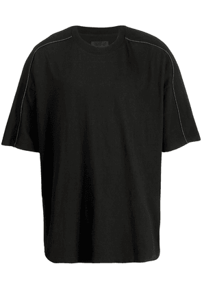 D.Gnak Scotch piping T-shirt - Black