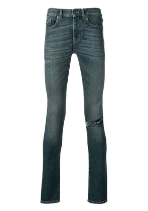 Saint Laurent skinny ripped jeans - Blue