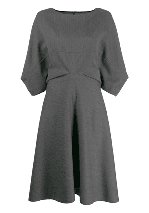 Chalayan ruched detail dress - Grey