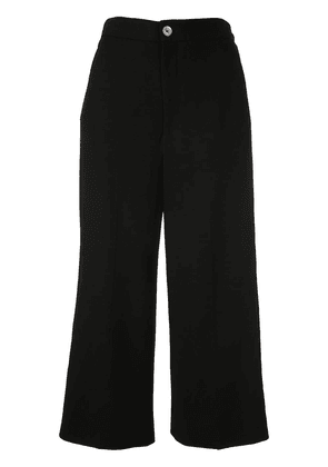 Gucci Web trim culotte trousers - Black
