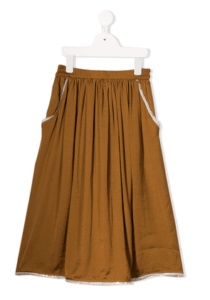 Caffe' D'orzo Ursula skirt - Brown