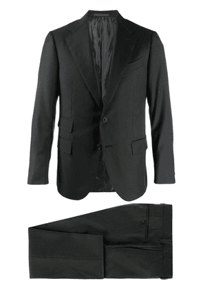 Caruso two-piece formal suit - Black
