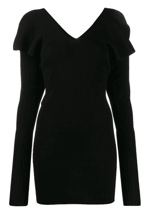 Circus Hotel knit mini dress - Black