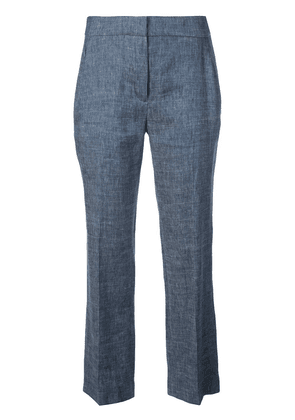 Elie Tahari tailored cropped trousers - Blue
