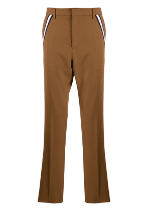 Valentino pleated tailored trousers - Brown