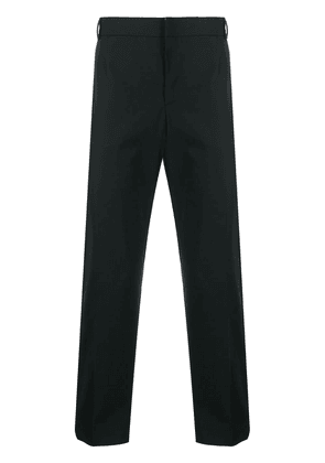 Maison Kitsuné tailored straight-leg trousers - Black