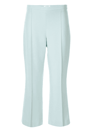 Andrew Gn tailored cropped trousers - Green