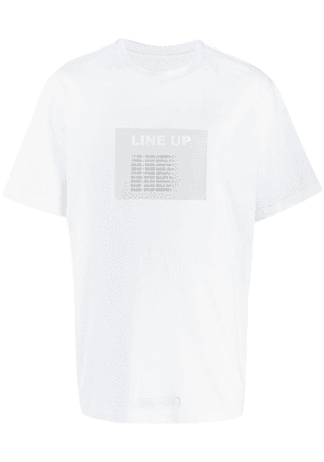 Bruno Bordese Line Up T-shirt - White
