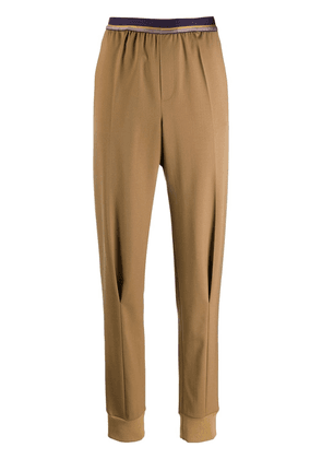 A.F.Vandevorst slim-fit tailored trousers - Brown
