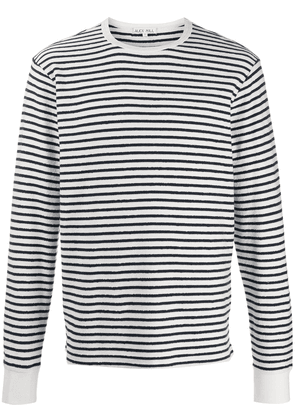 Alex Mill long sleeve striped top - White