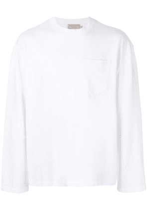 Maison Kitsuné chest pocket T-shirt - White