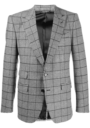 Dolce & Gabbana checked blazer - Black