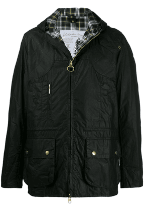 Barbour waxed cotton jacket - Black