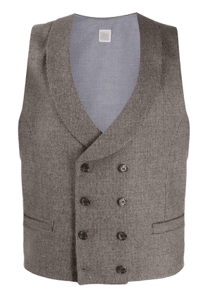 Eleventy double breasted waistcoat - NEUTRALS