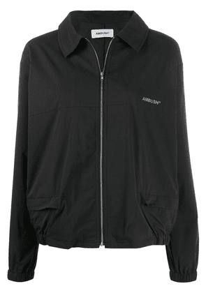 AMBUSH zip-up logo jacket - Black