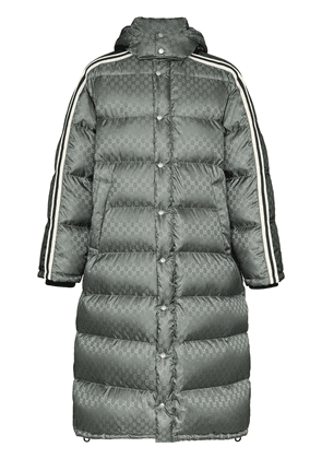 Gucci GG Supreme padded coat - Grey