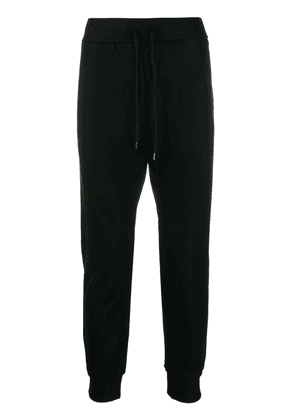 Attachment drawstring track trousers - Black