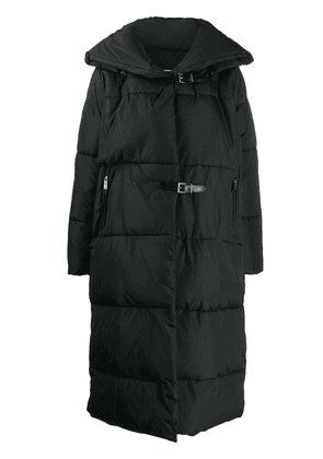 Barbara Bui quilted buckled coat - Black