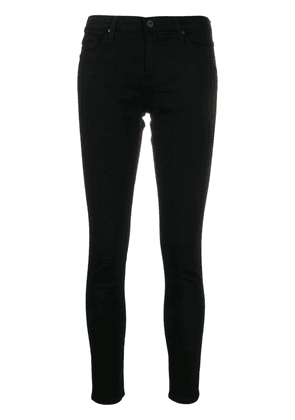 AG Jeans low rise skinny jeans - Black