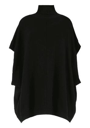 Gloria Coelho high neck oversized top - Black