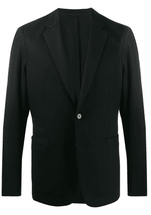Theory single-breasted fitted blazer - Black