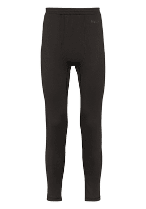 Burton AK black power grid base layer leggings