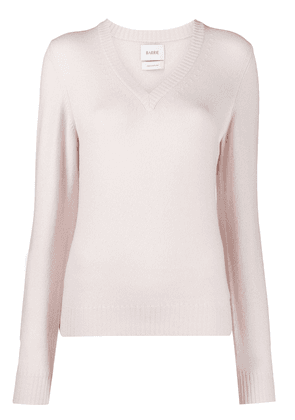 Barrie V-neck cashmere sweater - PINK