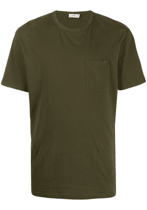 Closed chest pocket T-shirt - Green