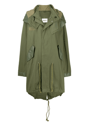 AMBUSH oversized military jacket - Green