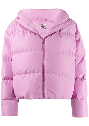 Bacon Cloud hooded puffer jacket - PINK