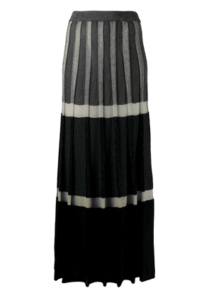 Antonio Marras tiered maxi dress - Grey