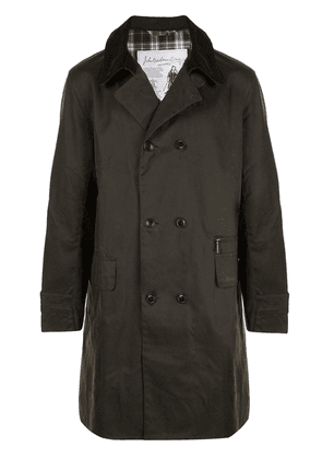 Barbour double breasted coat - Green