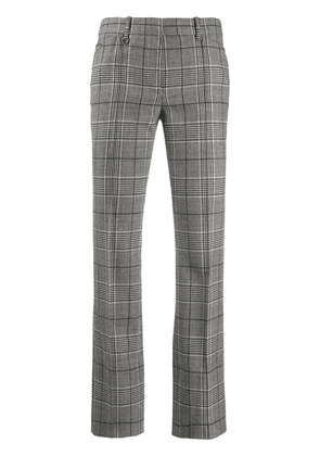 Barbara Bui checked trousers - Grey