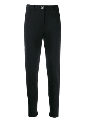 Elisabetta Franchi high-rise skinny trousers - Black