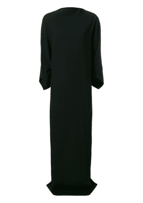 Chalayan draped high neck gown - Black