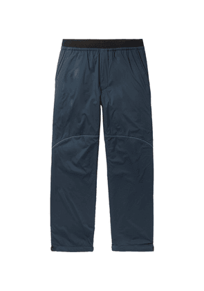 And Wander - Padded Polartec Alpha Shell Trousers - Navy