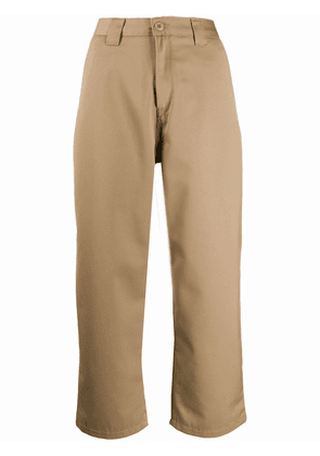 Carhartt WIP cropped tailored trousers - NEUTRALS