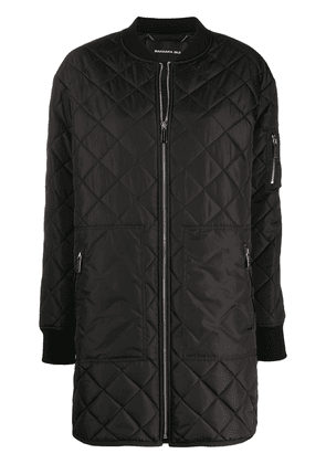 Barbara Bui quilted bomber jacket - Black