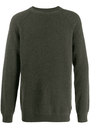 Barbour ribbed knit jumper - Green