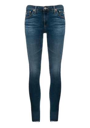 AG Jeans cropped skinny jeans - Blue