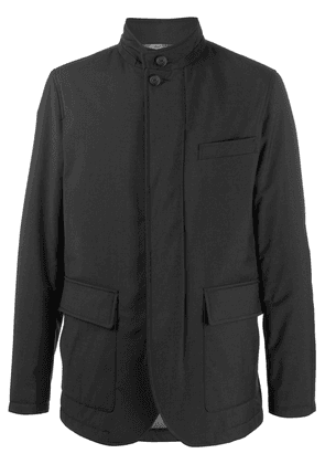 Canali padded lightweight jacket - Black