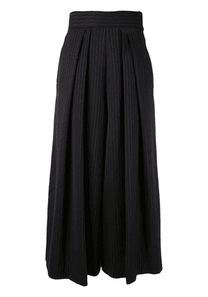 Antonio Marras pinstriped trousers - Black