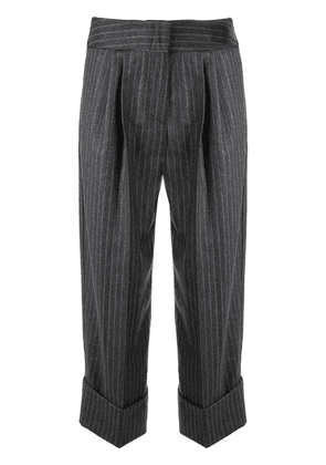Antonio Marras pinstriped trousers - 900 grey
