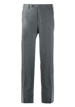 Canali straight leg trousers - Grey